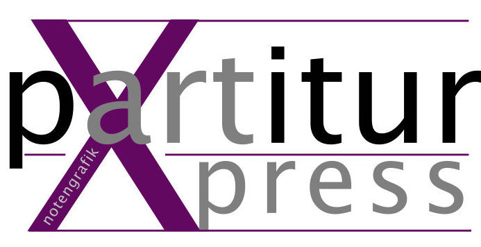 Partitur Xpress Notengrafik Notensatz Logo
